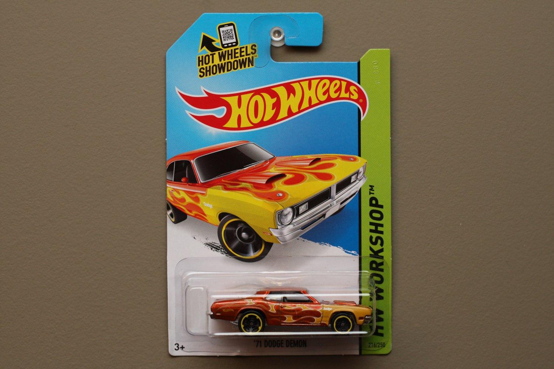 Hot Wheels 2014 HW Workshop '71 Dodge Demon (orange)