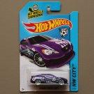 Hot Wheels 2014 HW City Hyundai Genesis Coupe (purple)