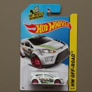 Hot Wheels 2014 HW Off-Road '12 Ford Fiesta (white) (Treasure Hunt)