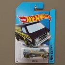 Hot Wheels 2014 HW City Super Van (navy blue)