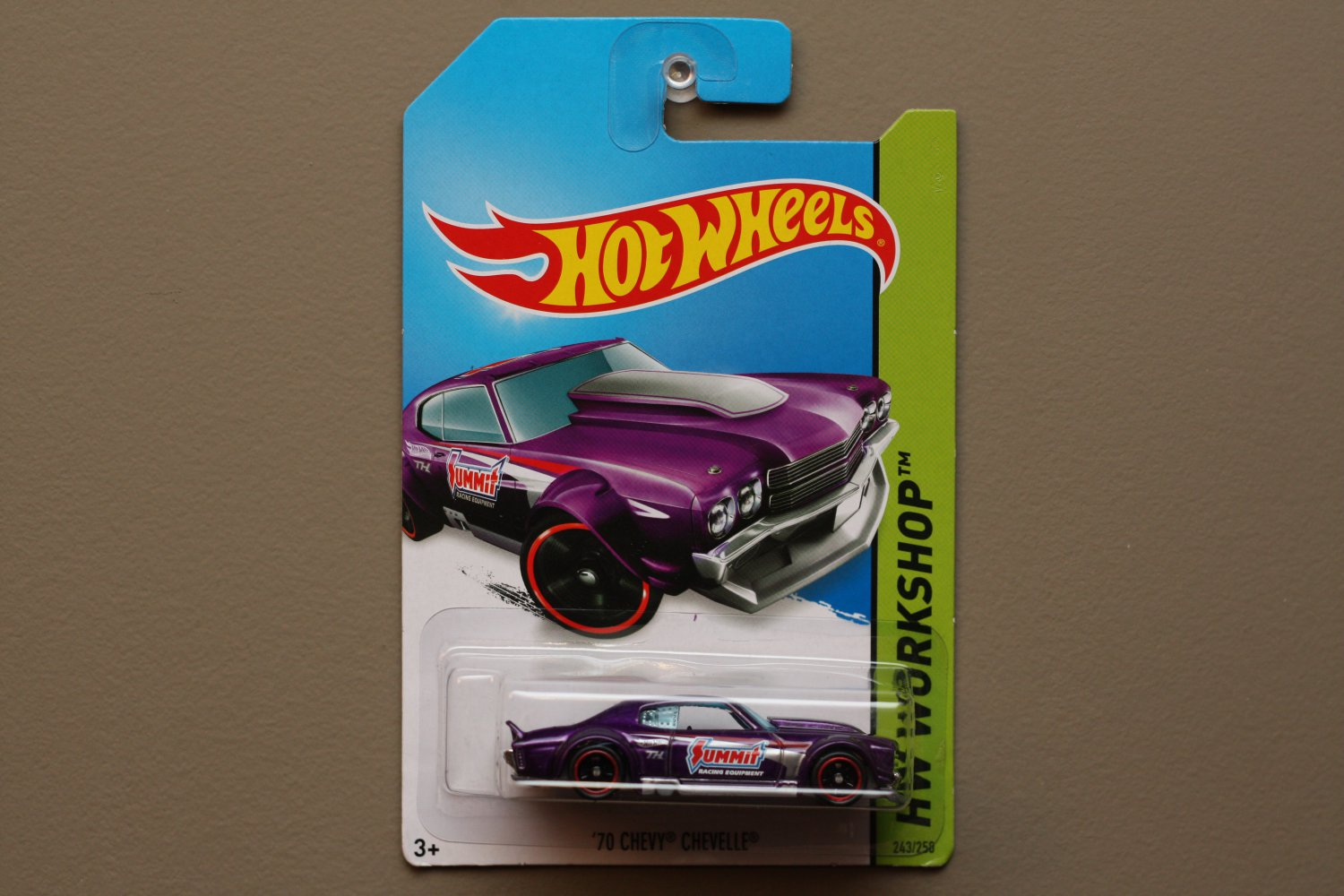 Hot Wheels 2014 HW Workshop '70 Chevy Chevelle (spectraflame purple) (Super Treasure Hunt)