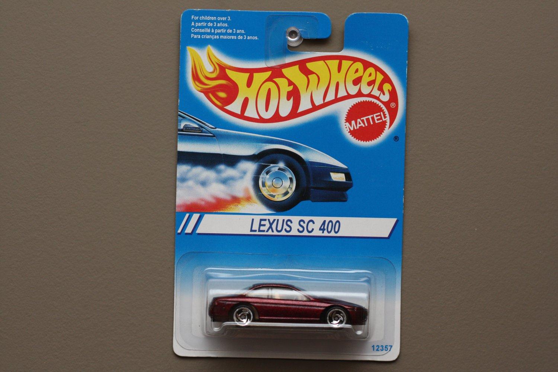Hot Wheels 1994 Lexus SC 400 (burgundy) (#264)
