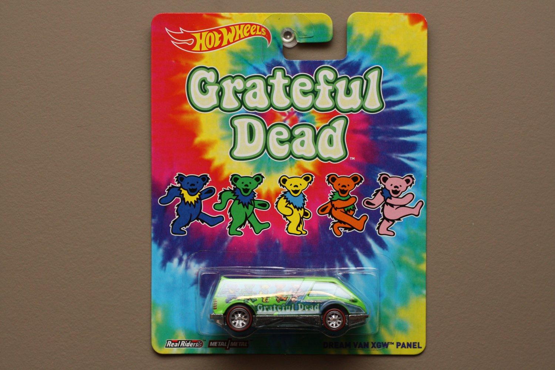 Hot Wheels 2014 Pop Culture Grateful Dead Dream Van XGW Panel