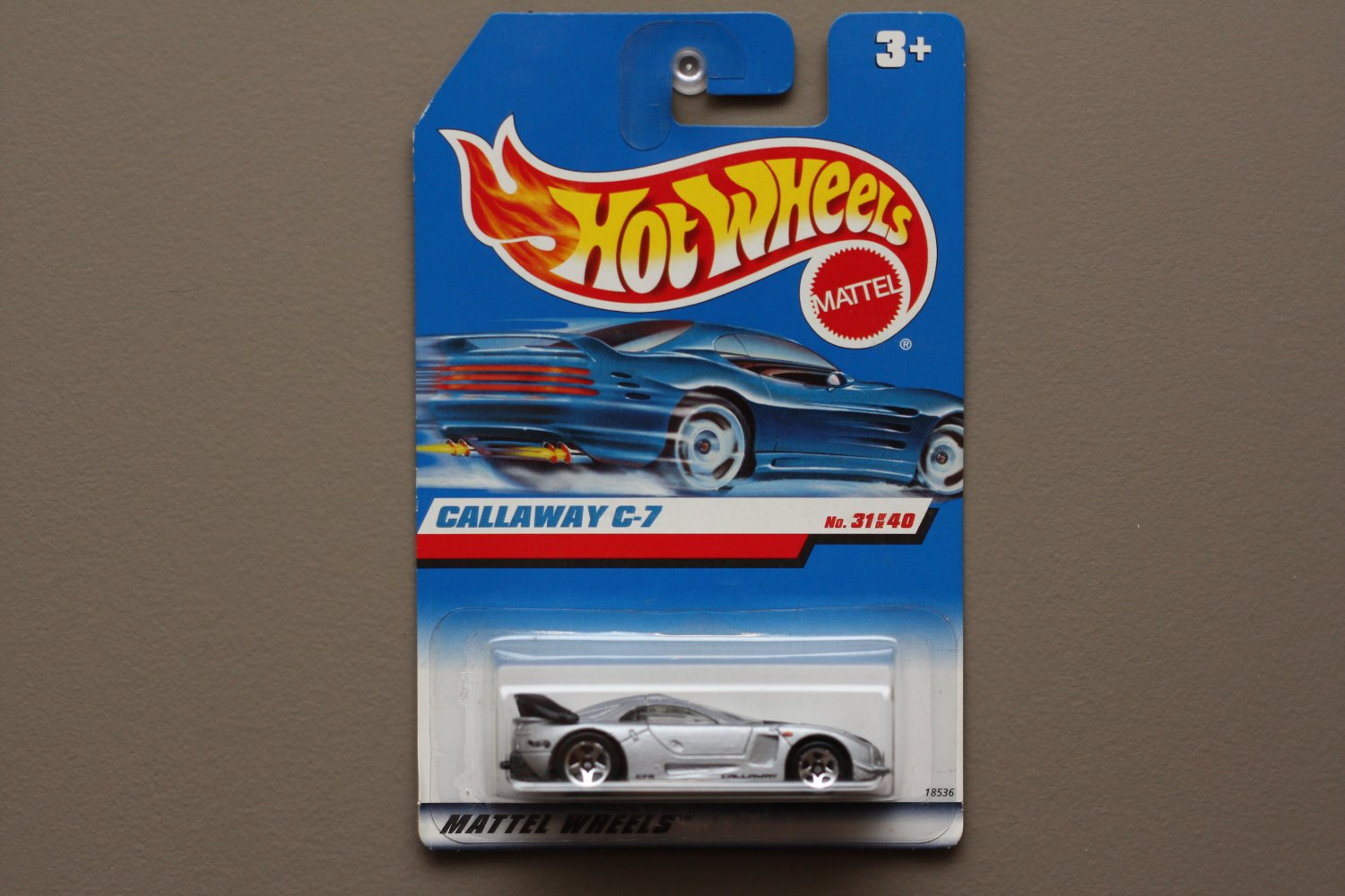 Hot Wheels 1998 First Editions Callaway C7 (silver)