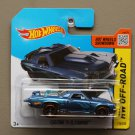 Hot Wheels 2014 HW Off-Road Custom '71 El Camino (blue) (Treasure Hunt)