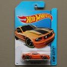 [WHEEL ERROR] Hot Wheels 2014 HW City Ford Mustang GT (orange)
