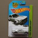 Hot Wheels 2014 HW Workshop Nissan Skyline H/T 2000GT-X (ZAMAC silver) (SEE CONDITION)