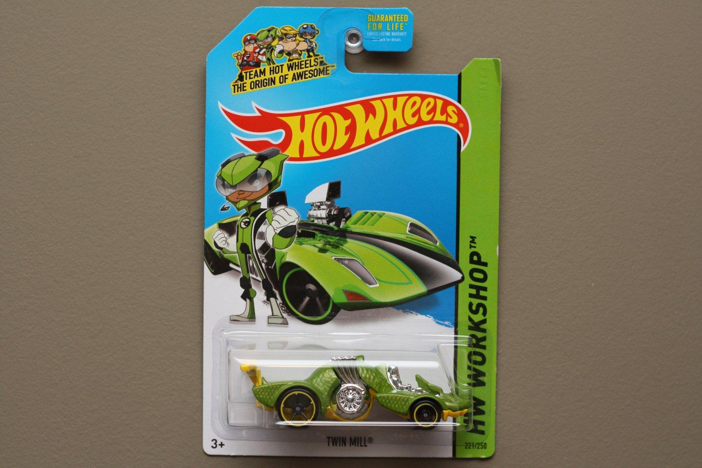 Package error hot wheels 2014 hw workshop twin mill for 9 salon hot wheels mexico