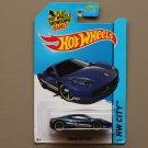 Hot Wheels 2014 HW City Ferrari 458 Italia (navy blue)