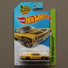 Hot Wheels 2014 HW Workshop '67 Chevelle SS 396 (yellow)