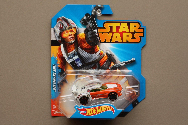 Hot Wheels 2014 Entertainment Star Wars Luke Skywalker