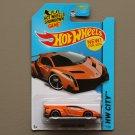 Hot Wheels 2014 HW City Lamborghini Veneno (orange)