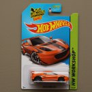 Hot Wheels 2014 HW Workshop Lotus Evora GT4 (orange - Kmart Excl.)