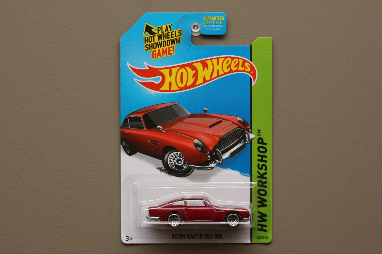 Hot Wheels 2015 HW Workshop Aston Martin 1963 DB5 (red)