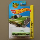 Hot Wheels 2014 HW Off-Road '83 Chevy Silverado (green - Kmart Excl.)
