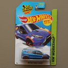Hot Wheels 2014 HW Workshop HW Ford Transit Connect (blue) (SEE CONDITION)