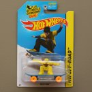 Hot Wheels 2014 HW Off-Road Skate Punk (yellow/blue)