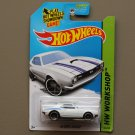 Hot Wheels 2014 HW Workshop '68 COPO Camaro (white)
