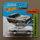 Hot Wheels 2014 HW Workshop Aston Martin 1963 DB5 (silver) (James Bond 007 Goldfinger)