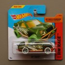 Hot Wheels 2014 HW Race Off Track (green) (Treasure Hunt)
