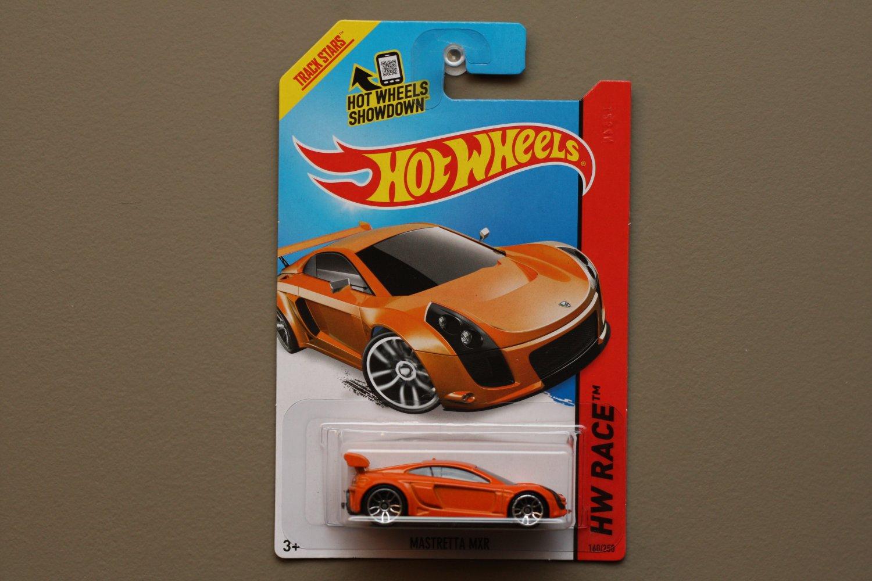 Hot Wheels 2014 HW Race Mastretta MXR (orange)