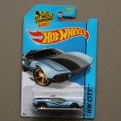 Hot Wheels 2014 HW City La Fasta (blue) (Treasure Hunt) (SEE CONDITION)