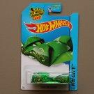 Hot Wheels 2014 HW City Cloak And Dagger (green) (Treasure Hunt)