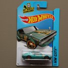Hot Wheels 2014 HW City Nissan Skyline 2000GT-R (teal)