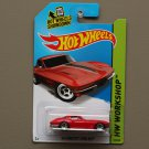 Hot Wheels 2014 HW Workshop '64 Corvette Sting Ray (red)
