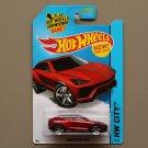 Hot Wheels 2015 HW City Lamborghini Urus (red)