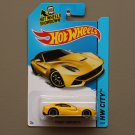 Hot Wheels 2014 HW City Ferrari F12 Berlinetta (yellow)
