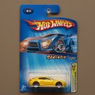 Hot Wheels 2005 First Editions Aston Martin V8 Vantage (yellow) (SEE CONDITION)