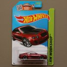Hot Wheels 2015 HW Workshop Bentley Continental Supersports (burgundy)