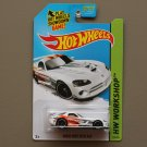 Hot Wheels 2015 HW Workshop Dodge Viper SRT10 ACR (white)