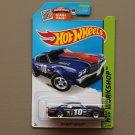 Hot Wheels 2015 HW Workshop '70 Chevy Chevelle (navy blue)