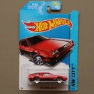 Hot Wheels 2014 HW City '81 Delorean DMC-12 (red) (SEE CONDITION)