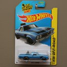 Hot Wheels 2015 HW Off-Road '68 El Camino (blue)
