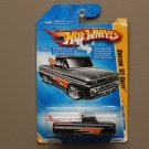 Hot Wheels 2008 First Editions Custom '62 Chevy (black) (SEE CONDITION)