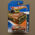 Hot Wheels 2011 Heat Fleet '56 Ford F-100 (brown)