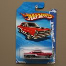 Hot Wheels 2010 Muscle Mania '66 Ford Fairlane GT (red) (SEE CONDITION)