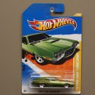 Hot Wheels 2011 HW Premiere '72 Ford Gran Torino Sport (green)