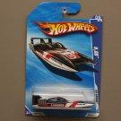 Hot Wheels 2010 HW Garage H2GO (Race Boat) (black)