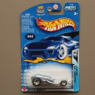 Hot Wheels 2003 Wild Wave Surf Crate (pearlescent blue)