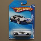 Hot Wheels 2010 HW Garage La Fasta (silver) (see condition)