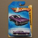 Hot Wheels 2009 HW Premiere '69 Mercury Cougar Eliminator (purple) (SEE CONDITION)