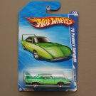 Hot Wheels 2010 Muscle Mania '70 Plymouth Superbird (green) (see condition)
