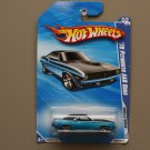 Hot Wheels 2010 Muscle Mania '70 Plymouth AAR Cuda (blue) (SEE CONDITION)