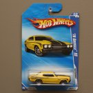 Hot Wheels 2010 Nightburnerz '70 Chevelle SS (yellow) (SEE CONDITION)