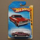Hot Wheels 2010 HW Premiere '67 Chevelle SS 396 (burgundy) (SEE CONDITION)