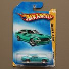 Hot Wheels 2009 HW Premiere Custom V8 Vega (teal) (SEE CONDITION)